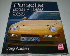 Bildband Porsche 924 / 944 / 968 Modelle Geschichte Technik Fakten Daten NEU!