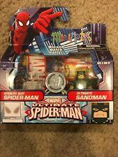 Marvel Minimates Stealth Suit Spider-Man Ultimate Sandman TRU Exclusive Wave 20