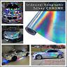 Holographic Silver Rainbow Neon Chrome Chameleon Vehicle Vinyl Wrap 20m Roll