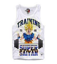 Ärmellose Son-Goku Herren-T-Shirts