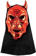 Adulto Máscara De Diablo Rojo Con Capucha adjunto #halloween #halloween máscaras