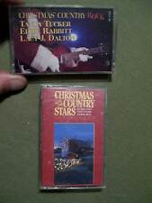 (3 LOT SET) COUNTRY CHRISTMAS,CHRISTMAS COUNTRY ROCK & CHRISTMAS W/ COUNTRY....