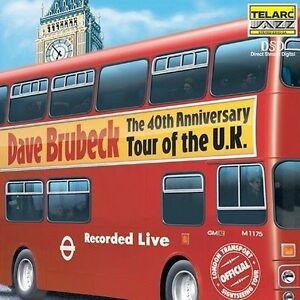 40th Anniversary Tour Live of the U.K. Dave Brubeck (CD, Apr-2001) SACD LIKE NEW