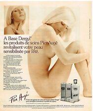 Publicité Advertising 1976 Cosmétique Les Produits de Soins Pier Augé