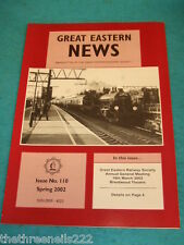 GREAT EASTERN NEWS #110 - SPRING 2002