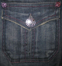 NWT Rock & Republic Jeans Suzie Trouser Jean Prism Purple 25