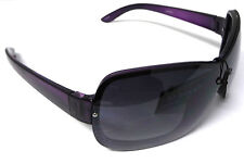Elegant Shield fashion Sunglasses 100% UV protection Purple color 2489GR