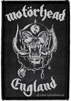 Official Licensed Merch Woven Sew-on PATCH Heavy Metal Rock MOTORHEAD England