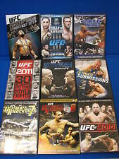 LOT UFC Ultimate Fighting Championship DVD Knockouts 6 7 8 2010 Greatest Hits ++