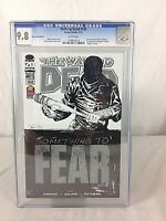 The Walking Dead #100 SDCC PX Previews Variant Cover 2012 Image Comic CGC 9.8