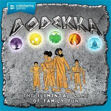 Dodekka: Coiled Spring Card Game - 2-6 players Age 6+ Family Fun game