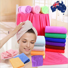 70x140cm Microfiber Large Towel Magic Soft Hair Dry Hat Cap Quick Drying HTOWE