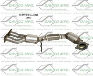 Davico Mfg 18433 Catalytic Converter For 08-15 Volvo S60 S80 XC60 XC70
