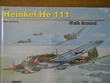 Squadron HEINKEL He 111 Bomber Walk Around COLOR Photos HARDCOVER NEW sealed HB
