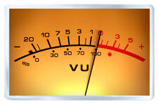 VU METER FRIDGE MAGNET IMAN NEVERA