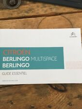 Manuel D Utilisation Citroën Berlingo Multispace