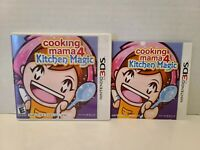 Cooking Mama 4: Kitchen Magic (Nintendo 3DS, 2011) Case and Manual Only