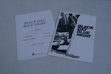 BLACK DAY AZUL NIGHT INFORMACIÓN DE PRENSA GIL FUELLE MIA SARA MICHELLE FORBES