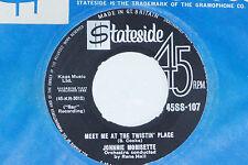 "JOHNNIE MORISETTE -Meet Me At The Twistin' Place- 7"" 45"