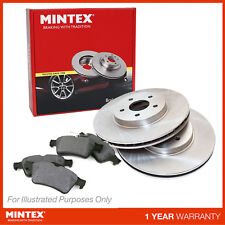 New Volvo V70 MK3 D5 Estate Genuine Mintex Front Brake Disc & Pad Set