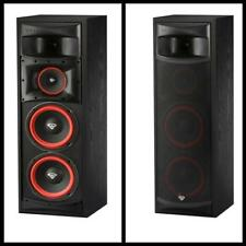 "3 Way Subwoofer Cerwin Vega XLS-28 Dual 8"" Floor Standing Tower Speaker Black"