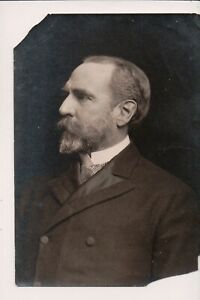 Vintage Press Photo Dr. Duffield Very Distinguished w beard