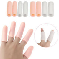 5pcs silicone gel tube bandage finger toe protector foot pain relief feet care .