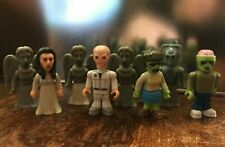 Dr Who Character Building Mixed mini figures - Zombie, Weeping Angels