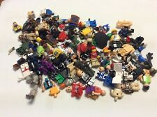 8 Ounces Non Lego and Lego Mixed Minifig parts 1/2 Pound minifigures Lot M485M