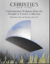 Christie's Douglas Cramer Contemporary Sculptures Collect Auction Catalog 1997