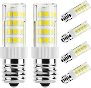 E17 LED Bulb Appliance Bulbs Microwave Oven Stovetop Light 4W 400lm 6-Pack
