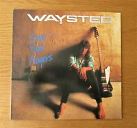 WAYSTED Save Your Prayers ORIGINAL 1986 EU PRESSING VINYL LP HEAVY METAL UFO EX