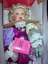 "PARADISE GALLERIES / LINDA HANSON MUSICAL DOLL MELODIES & MEMORIES ""SARAH"" NIB"