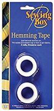 Sewing box hemming tape 2 x 10 metres