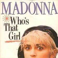 """Madonna(7"""" Vinyl P/S)Who's That Girl-Sire-W8341-UK-1987-Ex/Ex"""