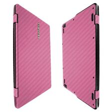 Skinomi Pink Carb Fiber Skin+Screen Protector For Samsung Notebook 9 Spin 13.3""