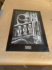 "HR Giger Birth Machine 24""x36"" Authentic 1998 Poster Art Print"