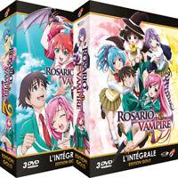 ★ Rosario + Vampire ★ Saisons 1 et 2 - Edition Gold - 2 Coffrets - 6 DVD