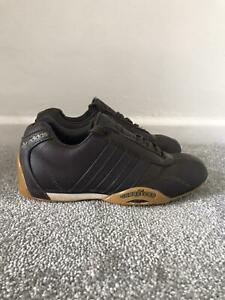 Adidas Goodyear Adi Racer Size 3.5 Brown Leather Rare Vintage Trainers Sneakers