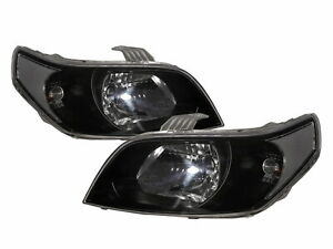 G3 Wave 2009-2011 FACELIFT Hatchback 5D Clear Headlight Black for PONTIAC LHD