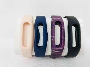 Fitbit Flex lot of replacement bands Lot If 4 Blue Black Pink Purple