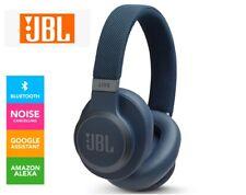 JBL LIVE650BTNC Over-Ear Bluetooth Wireless ANC Noise Cancelling Headphones Blue
