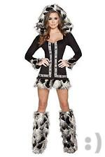 Roma Costume Women's 1 Piece Naughty Native Babe, Black, Medium