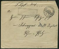 111/DP China Brief Feldpost KD Feldpostexpedition b 18/3/1901 nach Schnappach
