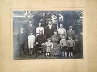 MARSEILLE. Photographie Ancienne D'une Famille Marseillaise DÉBUT XXéme  .