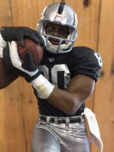 OAKLAND RAIDERS Tap Handle Jerry Rice  NFL Football Beer Keg BLACK JERSEY