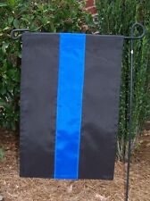 New listing Thin Blue Line Police Remembrance sewn Garden Flag