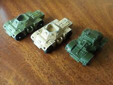 Three Vintage Dinky Armoured Cars