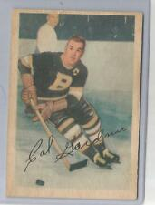 "1953-54 Parkhurst Hockey Cal Gardner Card # 99 Vg-Ex Condition ""B"""