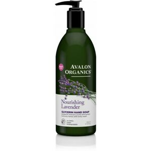 Avalon Organics Nourishing Lavender Glycerin Hand Soap 355ml